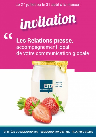 invitation relations presse