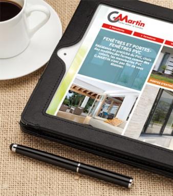 Le nouveau site internet de G.Martin