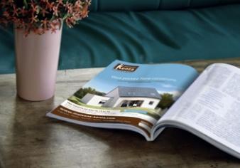 L'article sur Maisons Kenta dans la presse