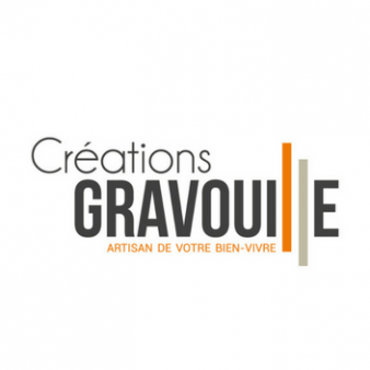 logo et identité visuelle créations gravouille créés par l'agence B17 communication