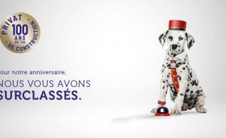 PRILEGIA de Maisons Privat : une campagne qui a du chien !