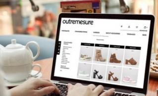 Création du site outremesure : vente en ligne de chaussures, sacs et accessoires de mode pour femme