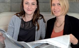 Claudie JOUIN et Audrey RUEL, attachées de presse B17