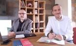 Éric Lemoine, Directeur de l'Agence B17 Communication et Arnaud Guérin, Directeur Adjoint
