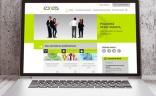 Visuel du nouveau site internet d