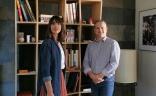 Laure Bideau, Responsable de communication et Jean-Charles Saunier, Directeur de clientèle associé, B17 Communication