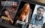 Visuel de la nouvelle communication de Someva