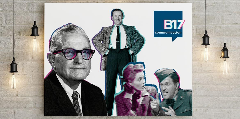 Illustration nouvelle identité graphique B17 Communication