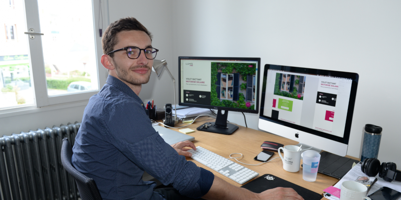 Quentin webdesigner développeur B17