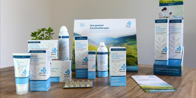 Gamme packaging Sos Aroma