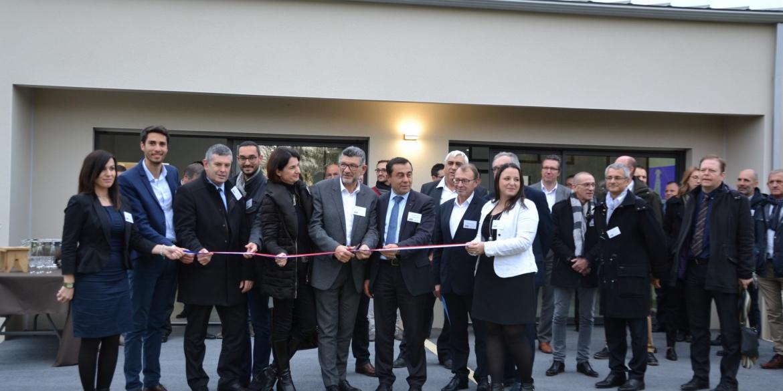 Inauguration maison témoin Maisons Privat