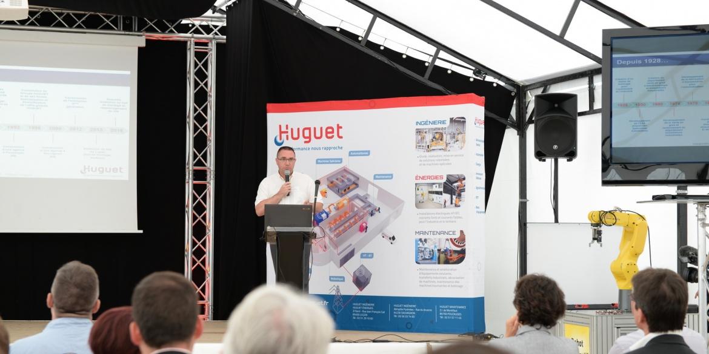 Inauguration groupe Huguet