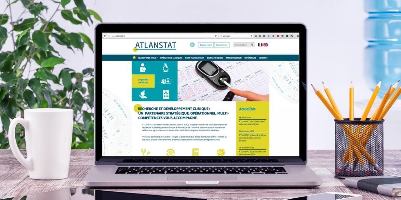 Le nouveau site internet d'Atlanstat