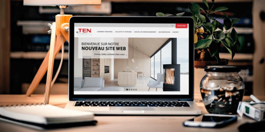 Nouveau site TEN