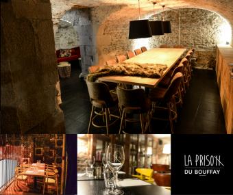 Restaurant la Prison du Bouffay à Nantes